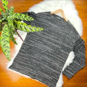 NWOT Zara Drop Shoulder Knit Sweater